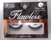 Ardell Strip Lashes Flawless #805 Black (Pack of 4) 3 Easy Steps