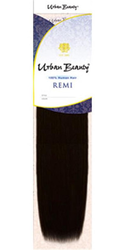 "Urban Beauty 18"" 100% Human Hair Yaki Weave Tangle Free Remi Box"