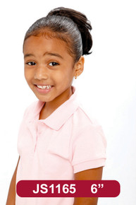 """7"""" Synthetic Hair Drawstring Ponytail Kids Hairpiece #1165"""