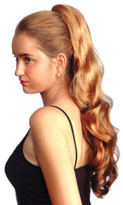 "Long Curly 24"" Claw Clip & Drawstring Ponytail Hairpiece - DM21"