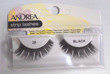 Andrea Modlash Strip Lash Pair 28 Black (Pack of 4)