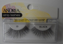 Andrea Fashion Strip Lash Eyelash Style 23 Black (Pack of 4)