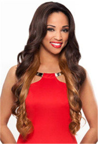 Heat Fusion Lace Front Wig - Diamond - High Temperature Fibers - Heat Ok