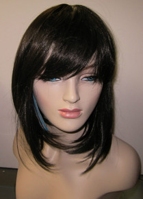 Synthetic Full Wig - CB09- Short- High Temperature Fibers Heat Ok