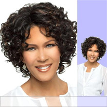 Synthetic Hair Full Wig - Tabetha - Curly