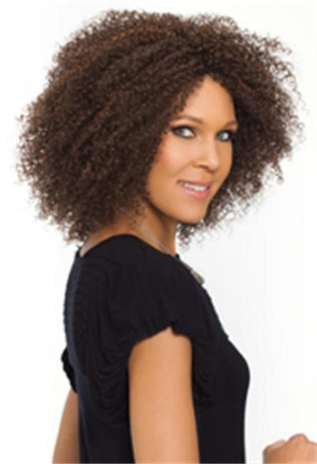 Synthetic Hair Full Wig - Tanay - Curly