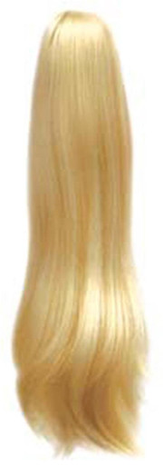 """Long Straight 20"""" Claw Clip & Drawstring Ponytail Hairpiece - DM43 Color #613"""