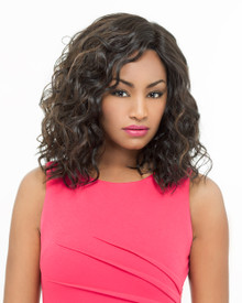 Foxy Lady Lace Front Wig - Tricia - High Temperature Fibers Heat Ok Curly