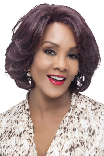 Vivica A Fox Short Synthetic Hair Lace Front Wig Garden - Heat OK
