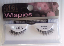 Ardell Strip Lashes Fashion Baby Demi Wispies Black (Pack of 6)