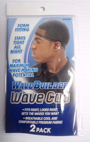 Wavebuilder Wave Cap Colors Black 2 pieces/pack