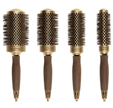 Olivia Garden Nanothermic Thermal 4pc Brushes NT-54 NT-44 NT-34 NT-24 Box Deal