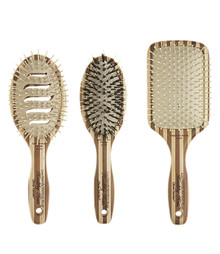 Olivia Garden Healthy Hair Eco-Friendly Bamboo Brush 3-pc HH-P5 HH-P6 HH-P7 Deal