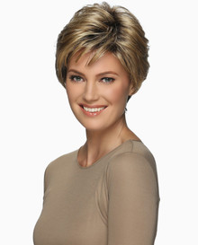 Estetica Pure Stretch Cap Short Full Wig Billie - Mixed Blonde and Grey Colors