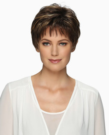 Estetica Pure Stretch Cap Short Full Wig Cheri - Brown, Blonde and Gray Colors