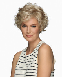 Estetica Front Lace Line Wig Meg - Brown, Blonde, & Gray Colors
