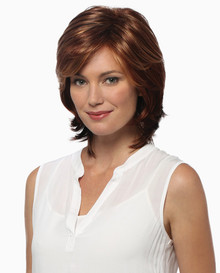 Estetica Pure Stretch Cap Full Wig Natalie color Brown, Blonde, & Gray