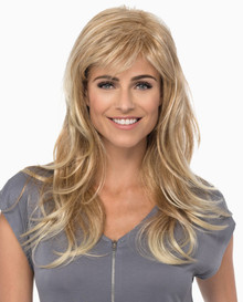 Estetica Pure Stretch Cap Long Full Wig Peace, Curly - Brown & Blonde colors