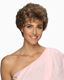 Estetica Pure Stretch Cap Short Full Wig Whisper Lite- Brown & Blonde colors