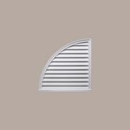 QLLV24____QUARTER  LOUVER DECO 24X24X2 - Left