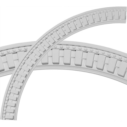 Ceiling Ring - CR47DT - Dentil and Bead