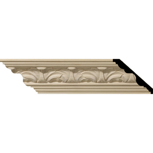 MLD03X03X05ACAL - Wood Crown Molding, Alder