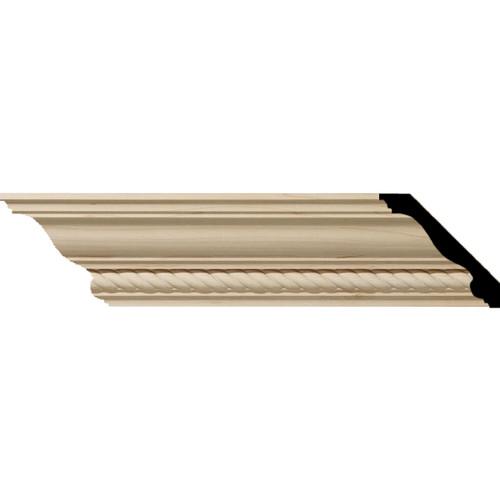 MLD03X03X05ADAL - Wood Crown Molding, Alder