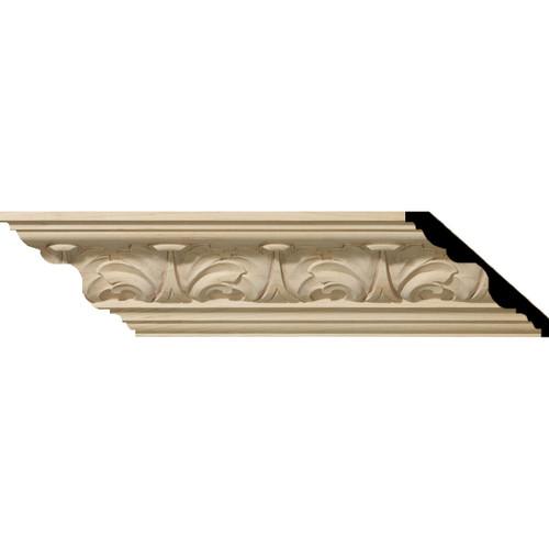 MLD04X05X06ACAL - Wood Crown Molding, Alder