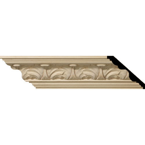 MLD04X05X06AC - Wood Crown Molding, Stain Grade