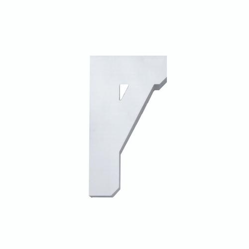 Fypon BKT11X20 - 11X20X3-1/8 Smooth Bracket