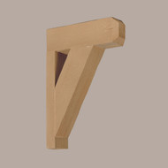 BKT12X18X3X1S - 12X18X3-1/2 Wood Grain Bracket