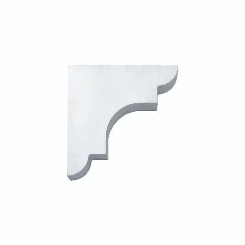 Fypon BKT13X13X3 - 13X13X3-1/2 Smooth Bracket