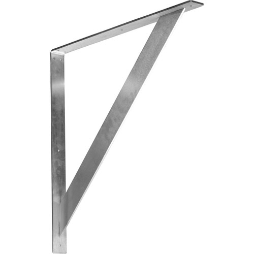 BKTM02X24X24TRCRS - Traditional Metal Bracket