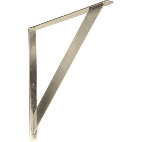 BKTM02X24X24TRSS - Traditional Metal Bracket
