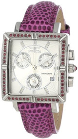 Invicta 10335 Women's Wildflower Classique Quartz Crystal Accented Purple Wat...