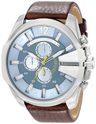Diesel Men's DZ4281 Diesel Chief Series Analog Display Analog Quartz Brown Watch
