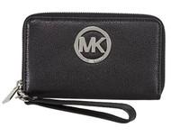 Michael Kors Fulton Multifunction Phone Case (Black)  32H5SFTE4L-001