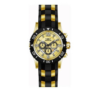 Invicta Men's 'Pro Diver' Quartz Stainless Steel and Polyurethane Diving Watch