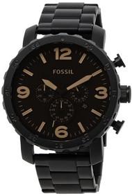 Fossil Men's JR1356 Nate Analog Display Analog Quartz Black Watch [Watch] Fossil