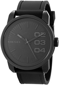 Diesel Men's DZ1446 Not So Basic Basic Black Watch