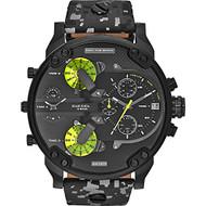 Diesel Men's Mr. Daddy  DZ7312 2.0 Black Ion-Plated Stainless Steel Bracelet watch