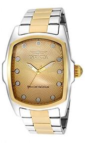 Invicta Men's 'Lupah' Swiss Quartz Stainless Steel Casual Watch (Model: 15853)