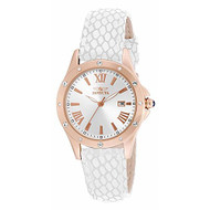Invicta Angel Silver Dial Beige Leather Ladies Watch 14844 [Watch] Invicta