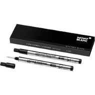 Montblanc 2 Rollerball LeGrand Mystery Black Refills 105164 by Montblanc