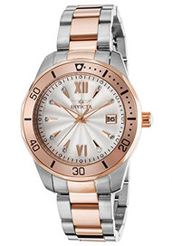 Invicta Women's 'Pro Diver' Quartz Stainless Steel Casual Watch (Model: 21911)