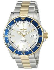 Invicta Men's 'Pro Diver' Quartz Stainless Steel Casual Watch (Model: 22061)