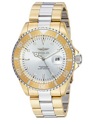 Invicta Men's 'Pro Diver' Quartz and Stainless Steel Diving Watch, Color:Two Tone (Model: 23225) …