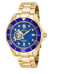 Invicta Men's 'Sea Base' Automatic Stainless Steel Casual Watch, Color:Gold-Toned (Model: 17924) …