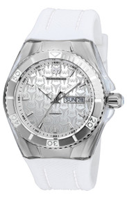 Technomarine Men's TM-115209 Cruise Monogram Quartz Silver Dial Watch