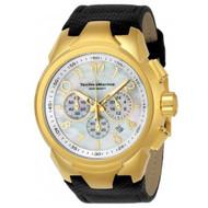 TechnoMarine Men's TM-715023 Sea Dream Quartz Chronograph White Dial Watch